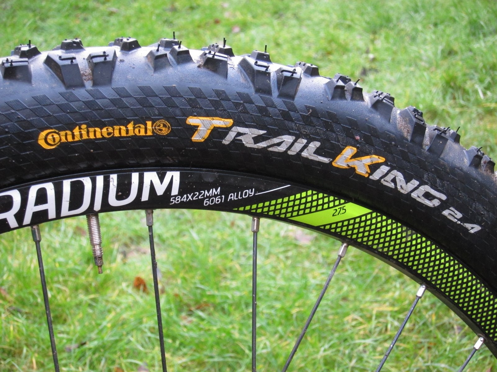 27.5in Continental Trail King Tire