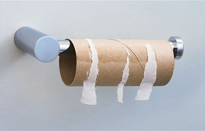 Empty Toilet Roll Camping Kids