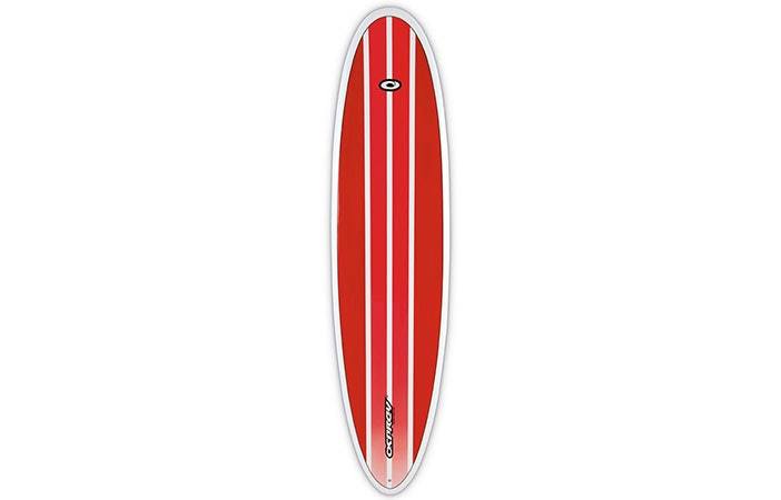 Funboards are a good way learn to surf on a shortboard