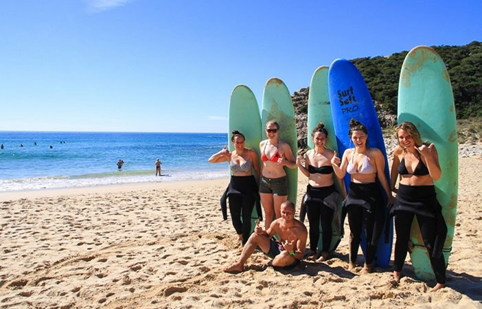 All female surf camps are increasingly popular and easy to find