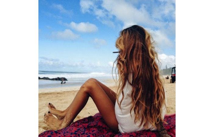 Beach Hair 10 P Pinterest