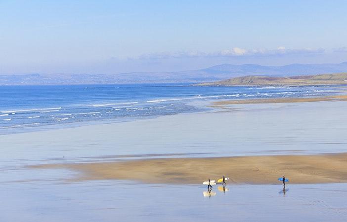 Bundoran Co. Donegal Ireland Surfing