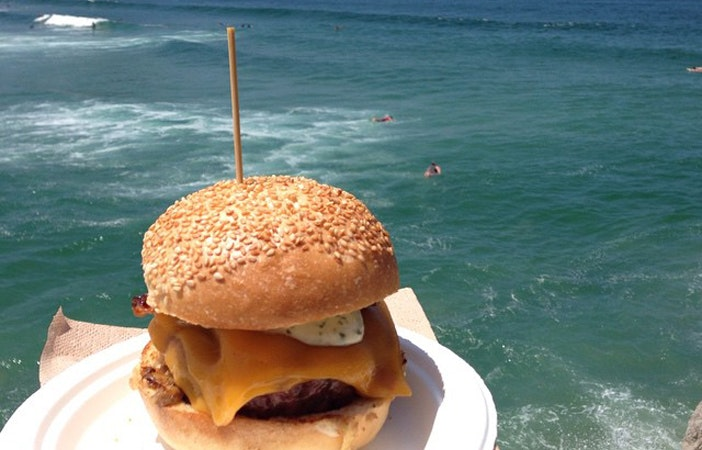 Burger Food Surfing