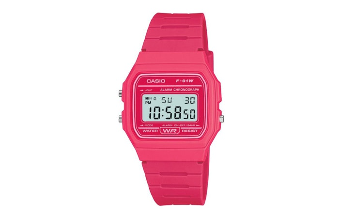 Casio F91W Watch Surfing