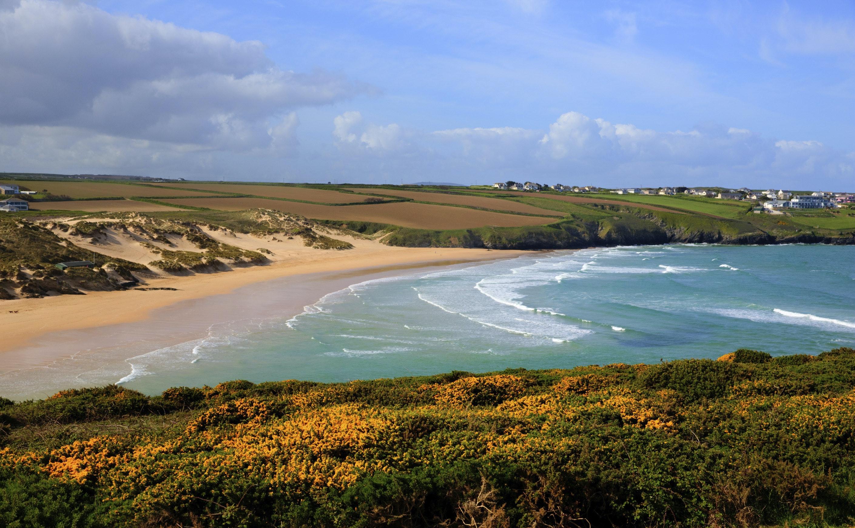 Crantock Newquay Cornwall Surf
