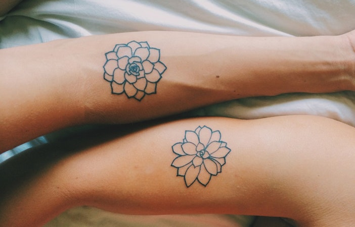 Flower Tattoo Arms