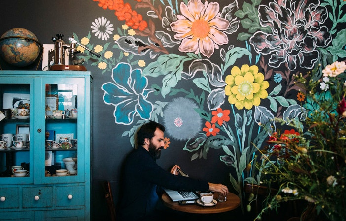 Home Wall Art Mural 20 Kinfolk - Astro Coffee Detroit P ee berger photography