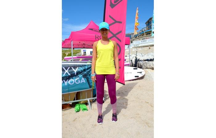Roxy RunSUP Yoga Newquay Cornwall 2015 5