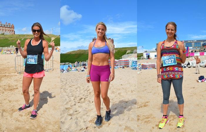Roxy RunSUP Yoga Newquay Cornwall 2015 8