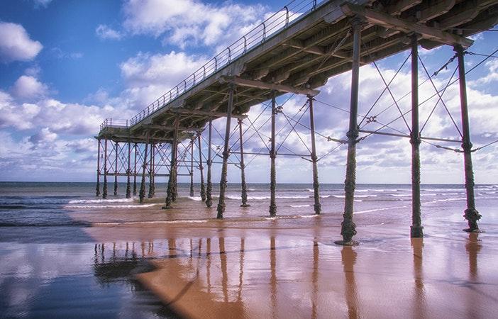 Saltburn Pier North Yorkshire Surfing UK