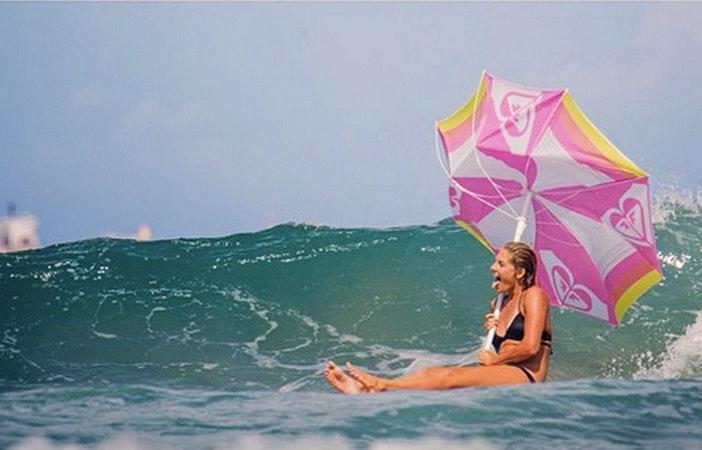 Steph Gilmore Umbrella Surf