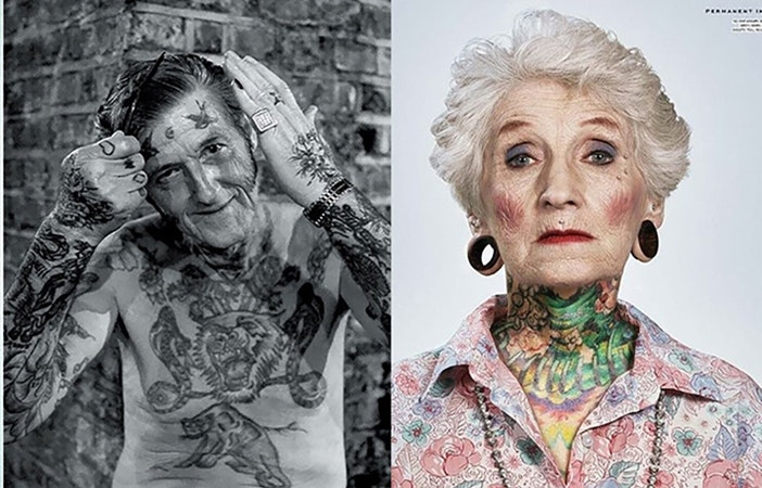 Tattoos When Old