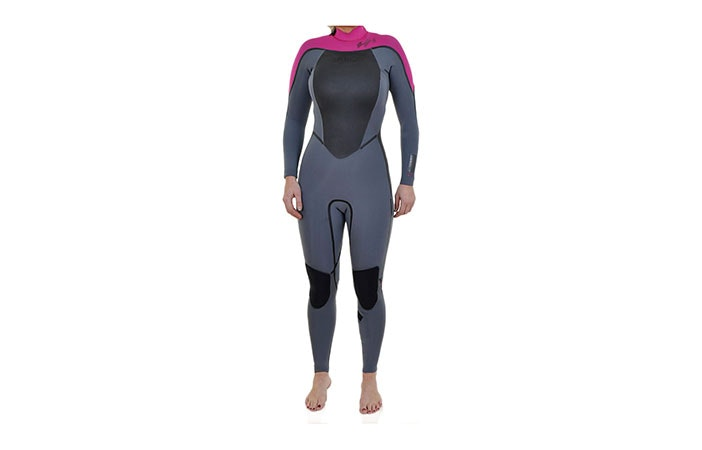 Women's 3mm wetsuits are on sale in many UK surf shops