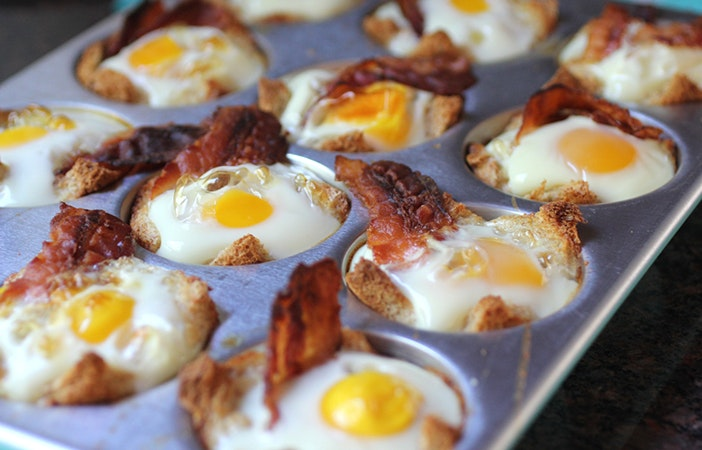 Camping Campfire Recipes Bacon Egg Breakfast Bowls
