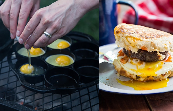 Camping Campfire Recipes Breakfast Burger