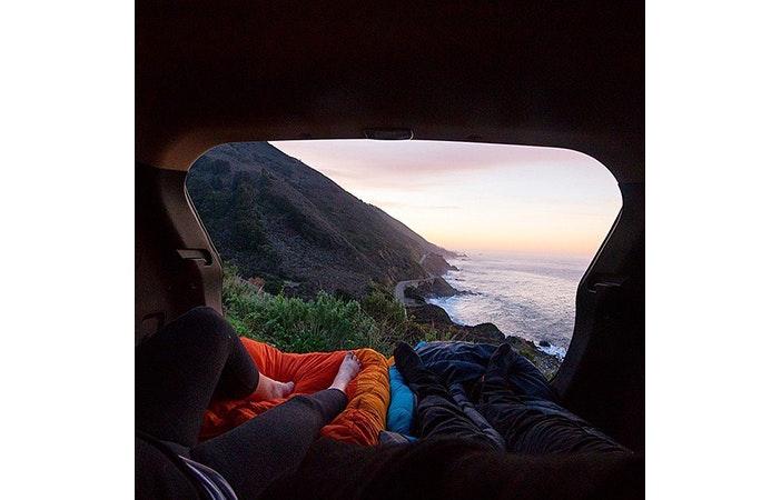 Camping Ocean Van P We Heart It