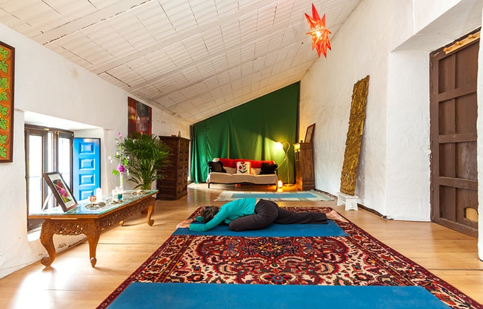 Home Yoga Space P Goyo Photography