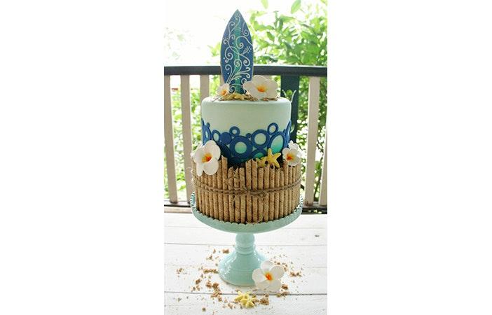Surfing Cake 1 Pinterest