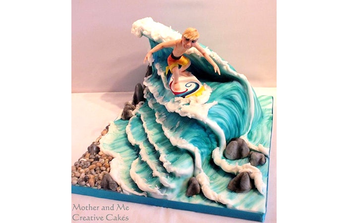 Surfing Cake 5 Mother And Me Creative Cakes