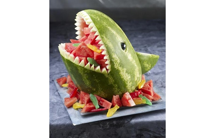 Surfing Cakes 3 Shark watermelon.org