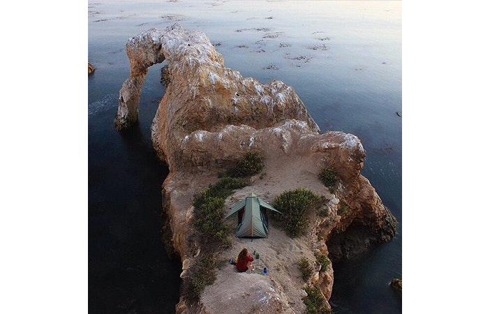 Tent Camping Mountains @everchanginghorizon