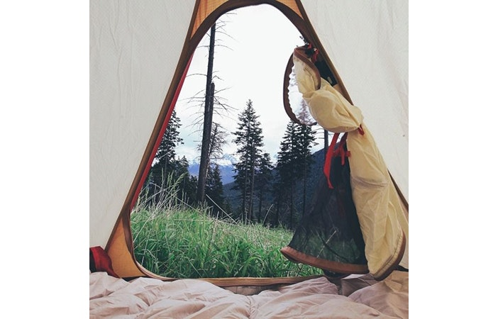 Tent Camping Mountains P Pinterest