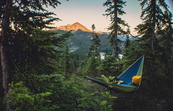 Tent Camping Mountains charleyzheng