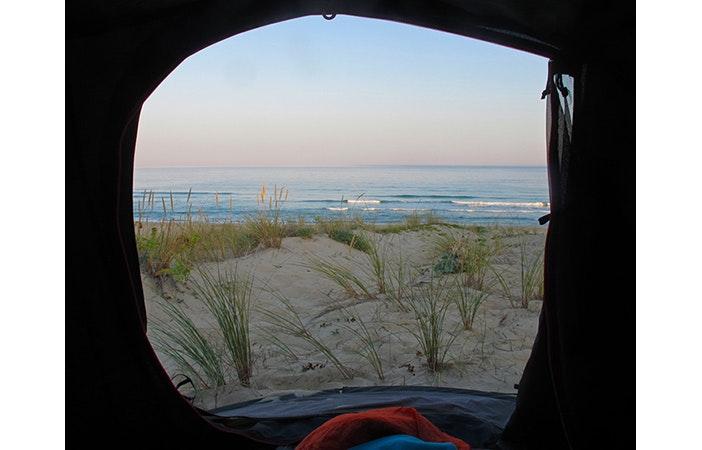 Tent Door View P Marie Pannetier