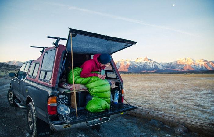 Van Camping View P Patagonia