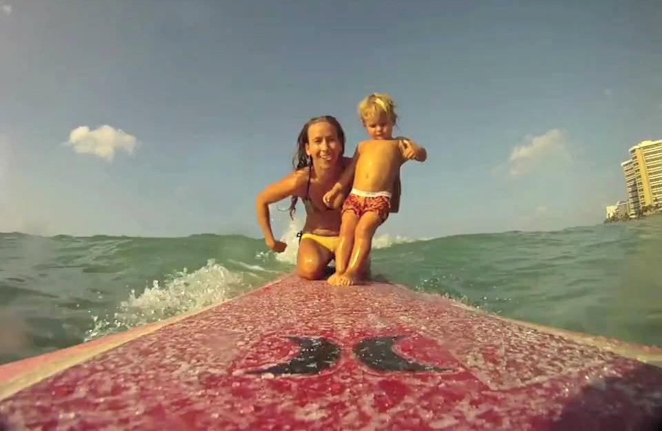 Daize Shayne Goodwin Surfing Baby