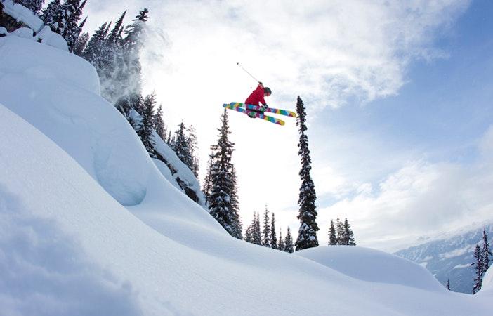 Ski Season Mountains Roxy