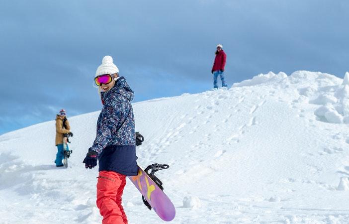 Ski Season Snowboarding Aimee Fuller Roxy Matt Georges