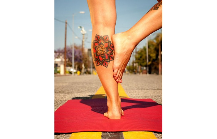 Yoga Tattoo Sarit Photography