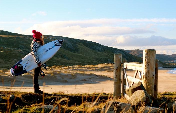 diane ripoll surfing winter beach 2
