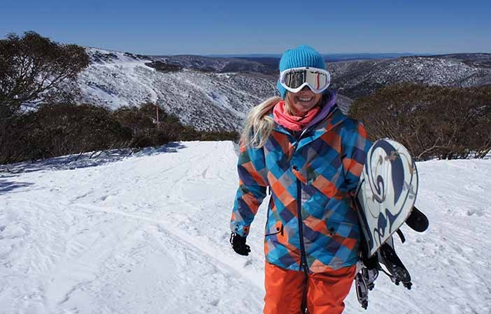 Female Snowboarder Pic: Anakie Outerwear