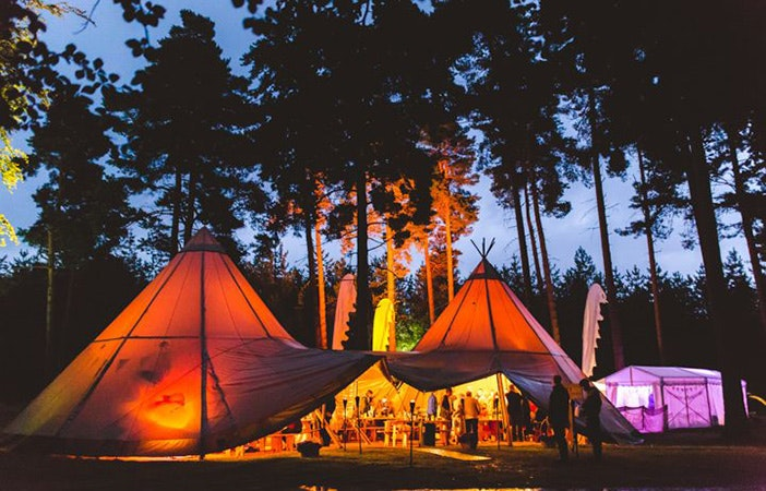 Wedding fetival tent pic: Cool Yurts