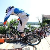 UK Rider Bernard Kerr will hit the Prague Downtown race this weekend.