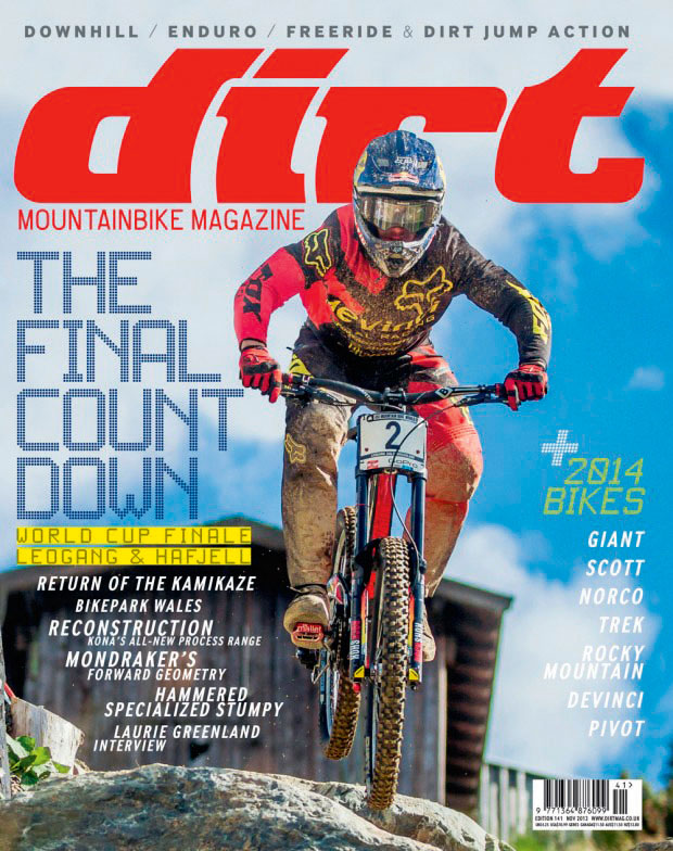 MTB Bike Reading Magazine Dirt Magazine 155 January 2015 Edition Mountain