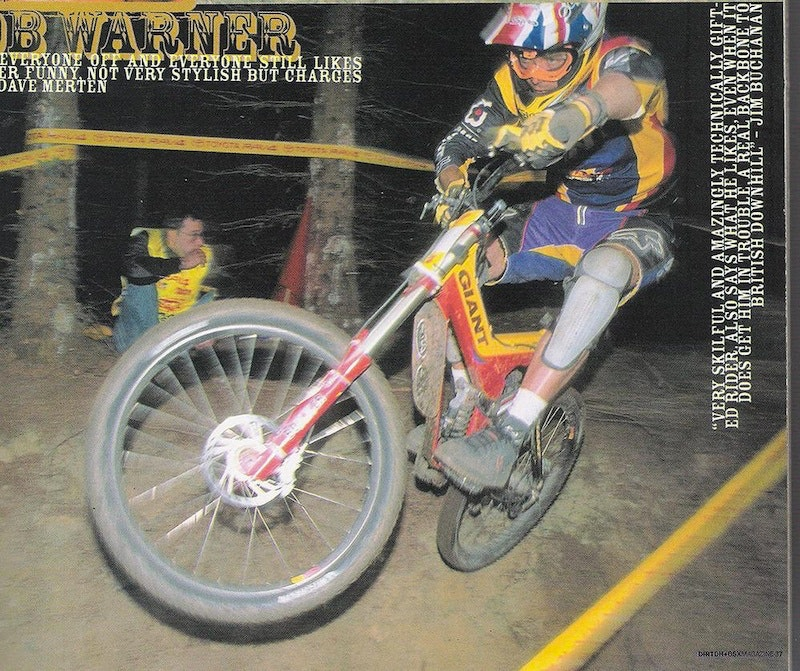 Rob Warner - Greatest Downhill Mountain racers Ever