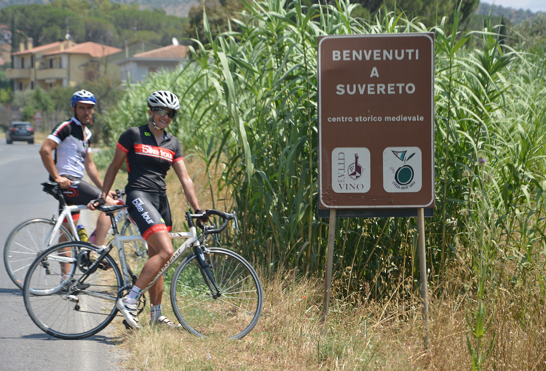 Tuscany Etruscan Coast cycle road bike mountain bike 6