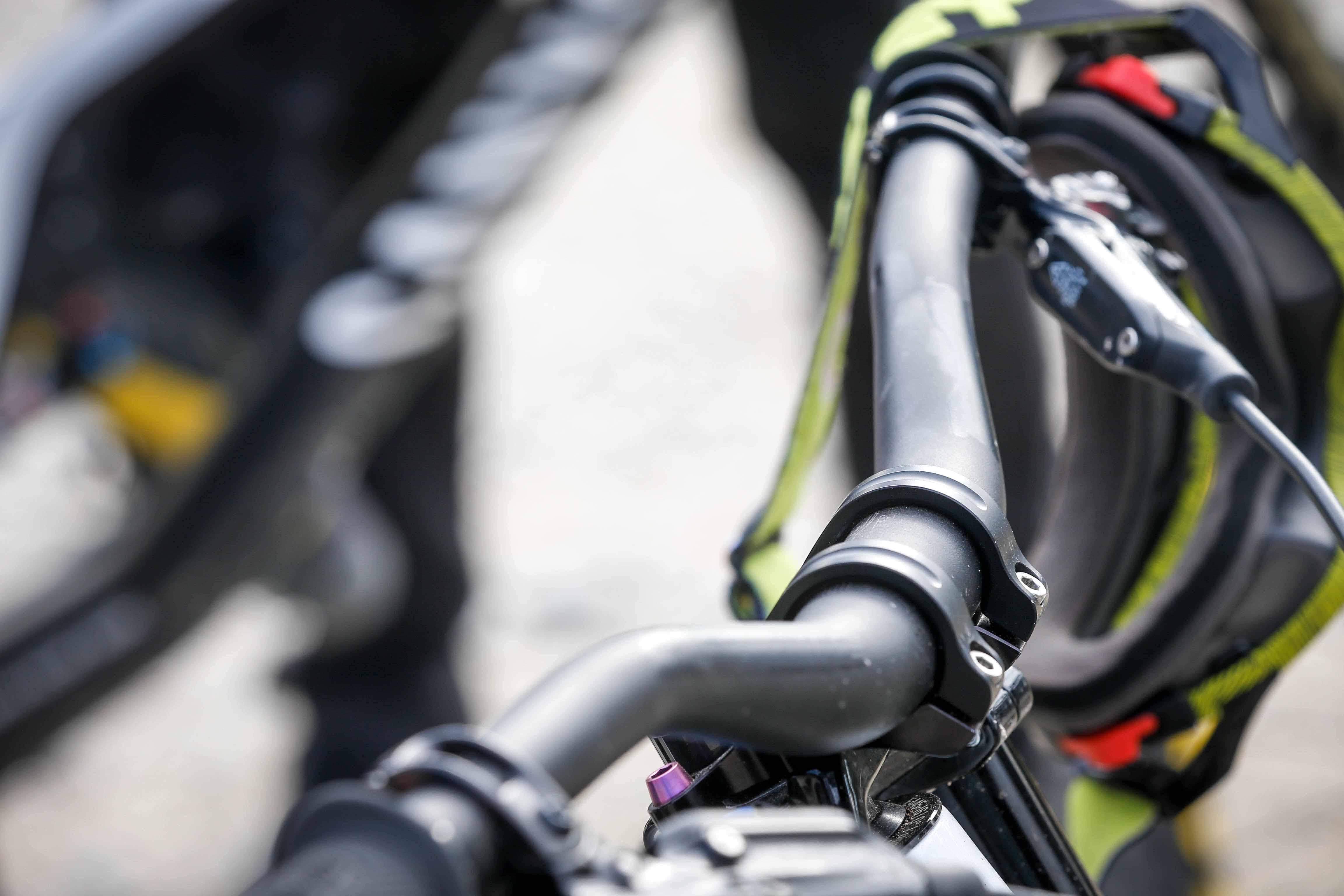 SC50 Carbon Mountain road MTB bike handlebar riser Bar 580-640 Seatpost stem