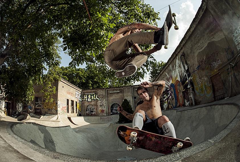 Sam Partaix Yann Horrowitz double Mellow Park Berlin