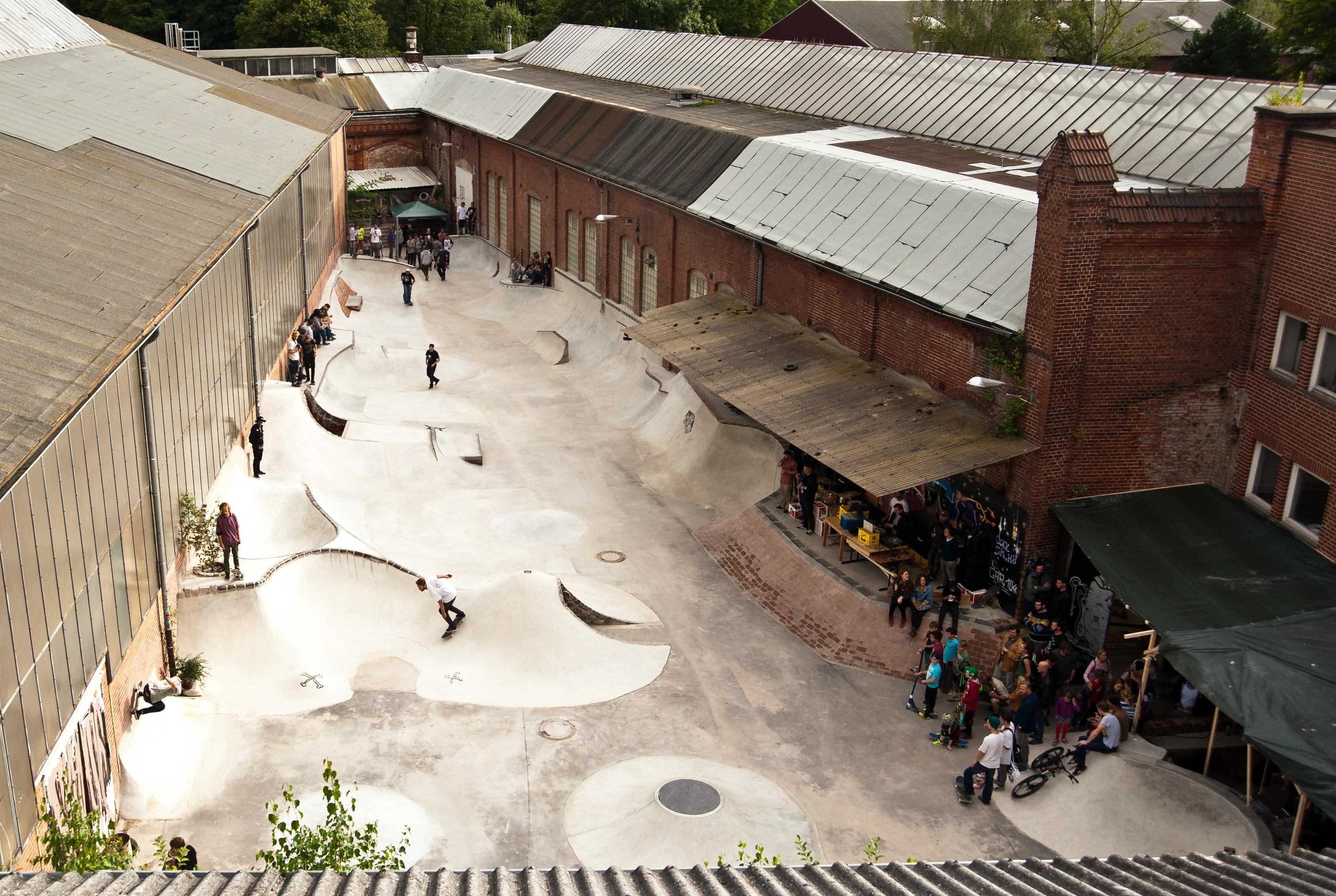 Mr. Wilson DIY Skatepark