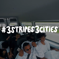 #3stripes3cities