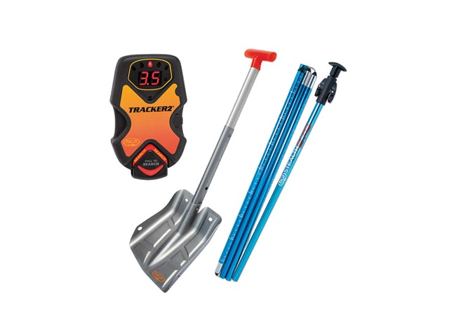 BCA Avalanche Rescue Package Safety Transceiver Snowboarding Shovel Probe