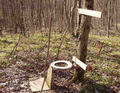 Crazy-Toilet-Outdoors-Forest