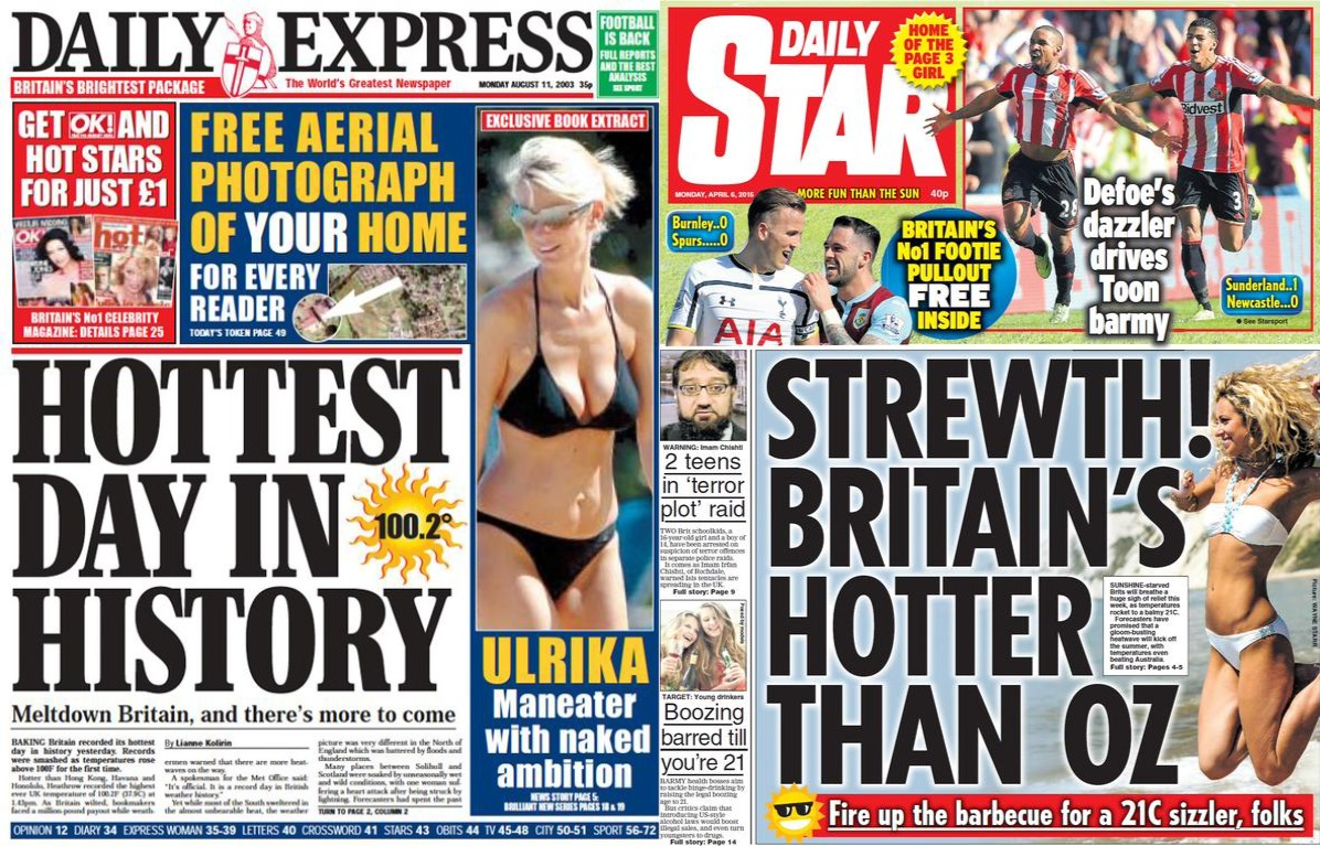 British-Heatwave-Newspaper-Daily-Express-Star