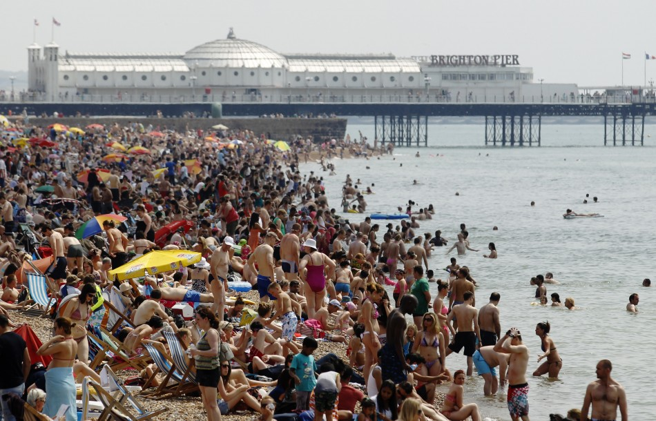 Beach-Britain-Summer-Heatwave-Weather-British