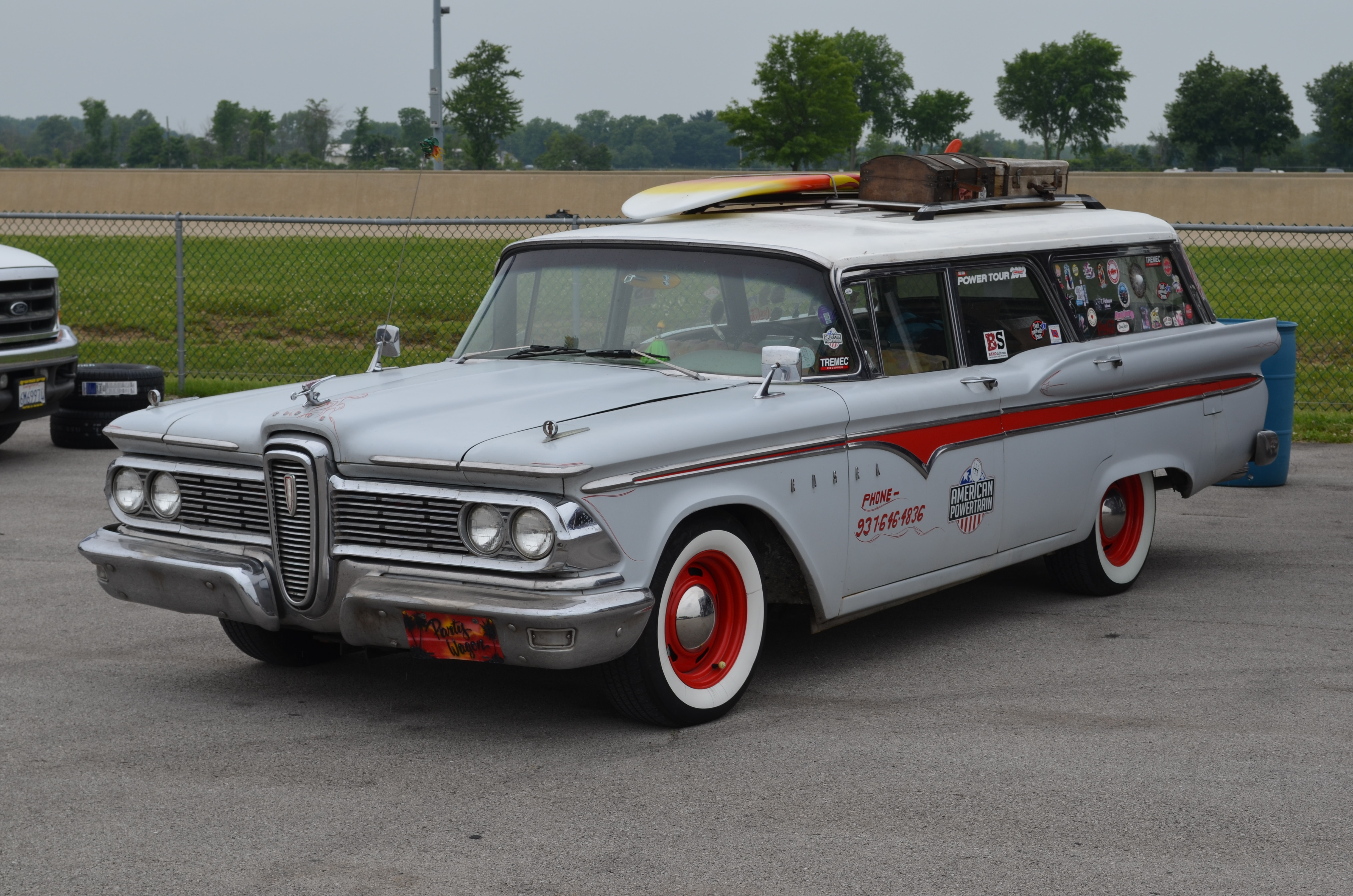 1959 Edsel Villager Surf Wagon On All Cylinders