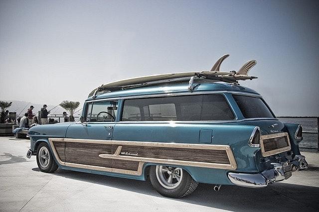 Vintage Surf Wagon